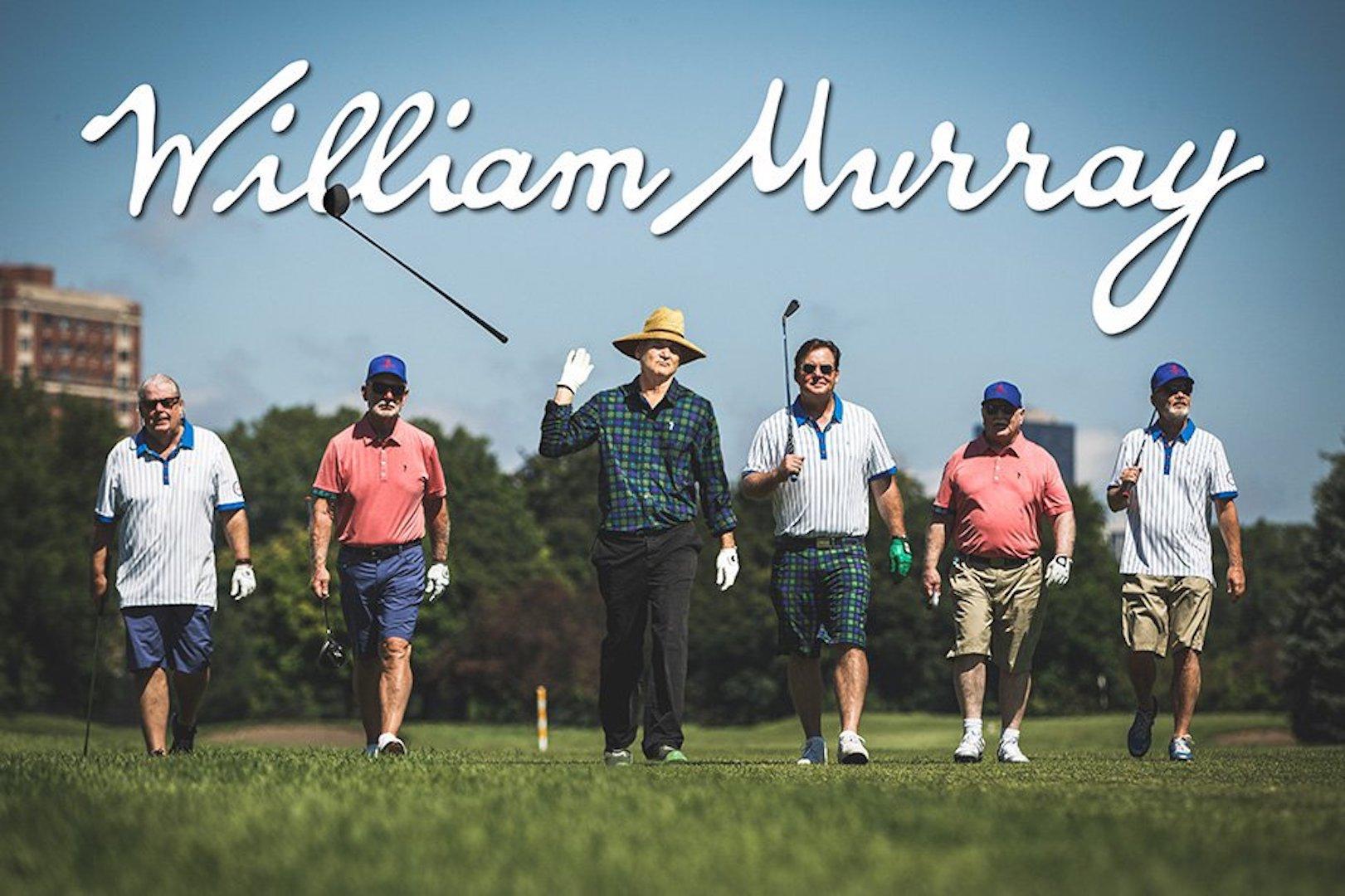 Bill Murray's golf clothing brand raises $1 million