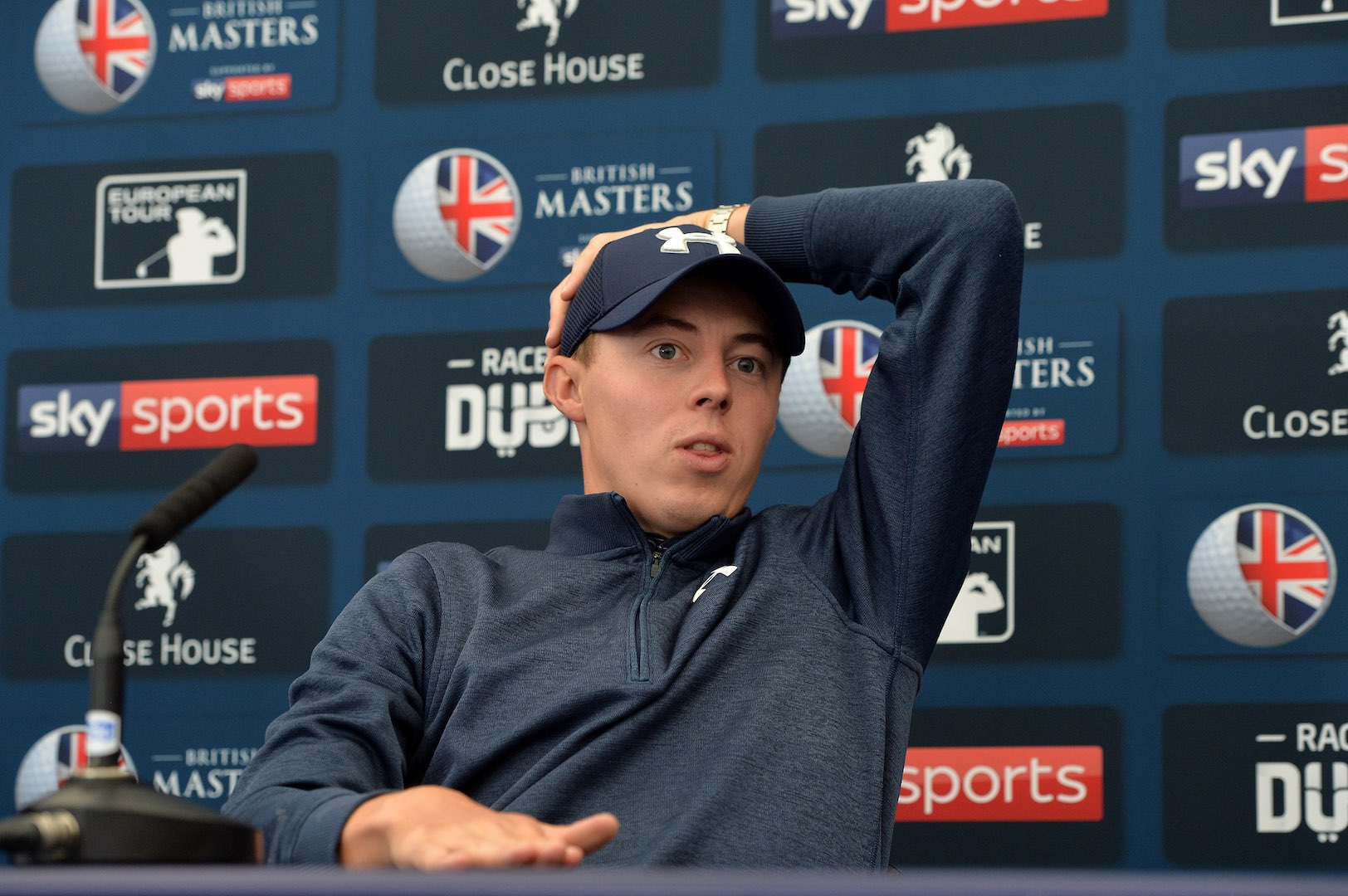 Paul Dunne Holds Off Rory McIlroy To Win The British Masters