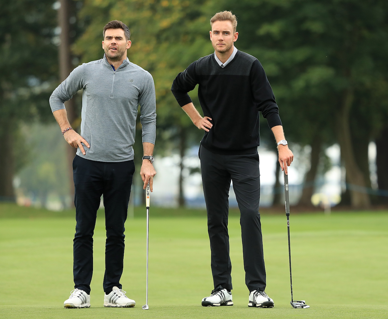 UK's tallest man almost takes out GolfPunk