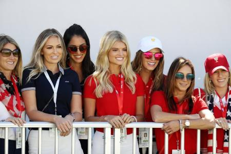 Presidents Cup – Presidents, wives and girlfriends