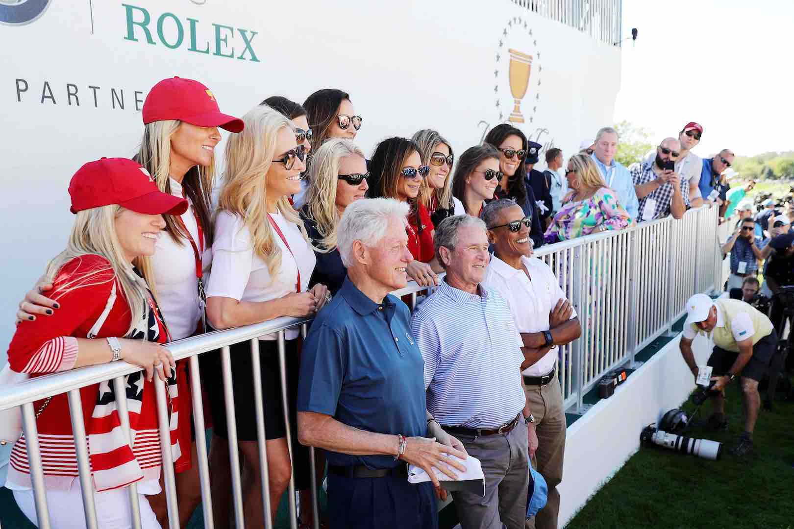 Three ex Presidents attend Presidents Cup opening ceremony