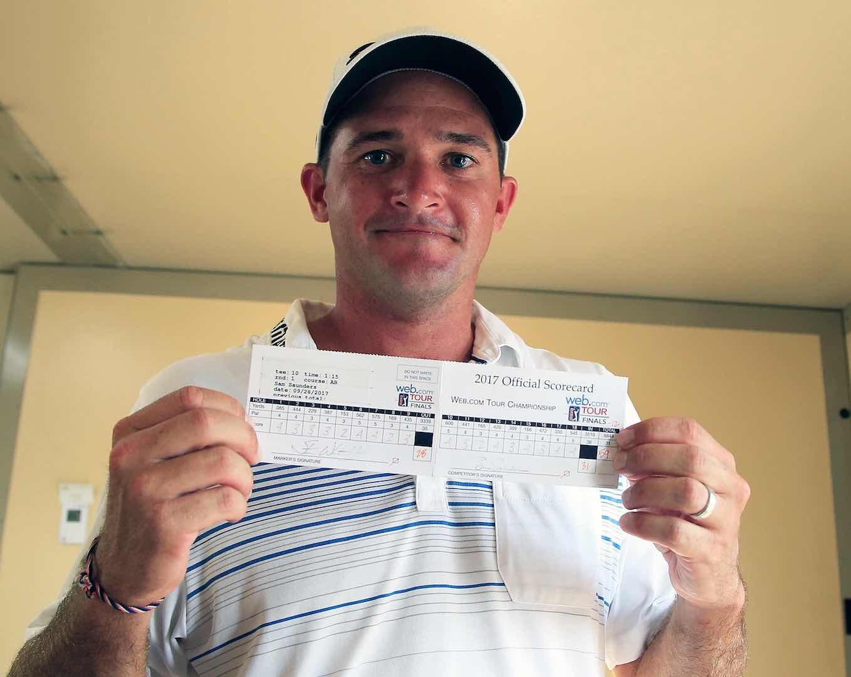 Arnold Palmer's grandson shoots 59