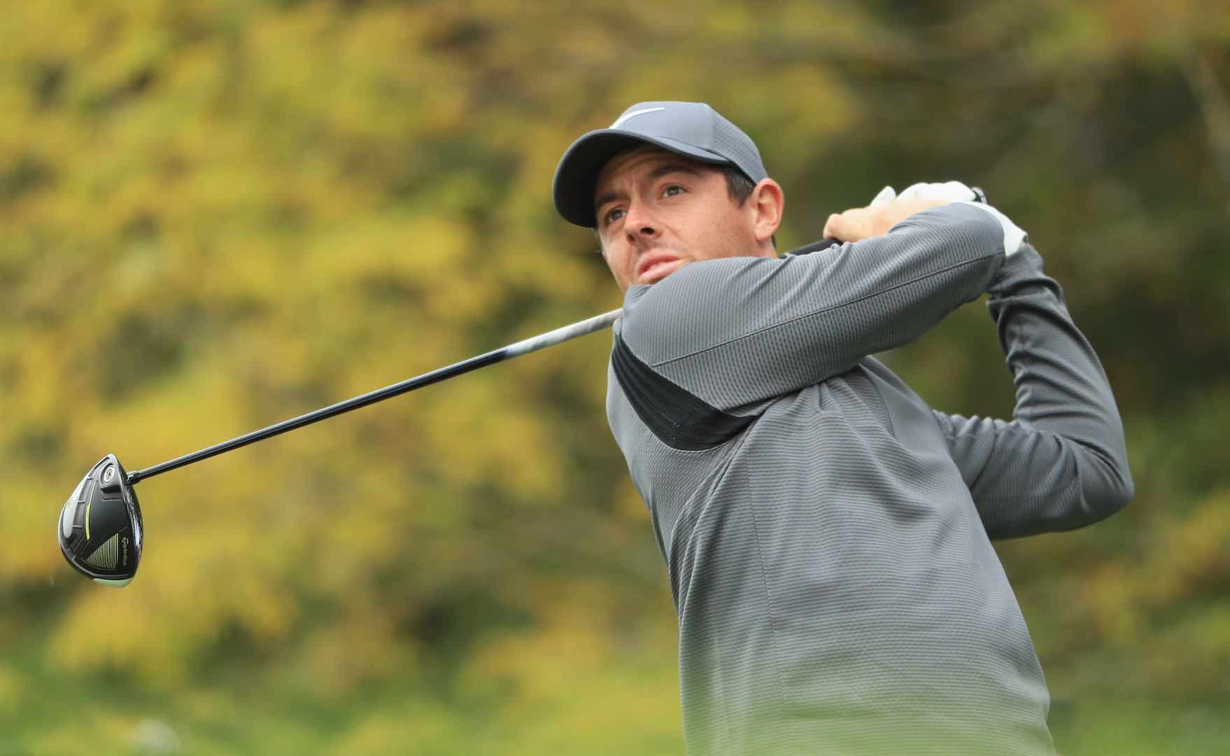 Rory McIlroy shoots 64 on moving day at British Masters