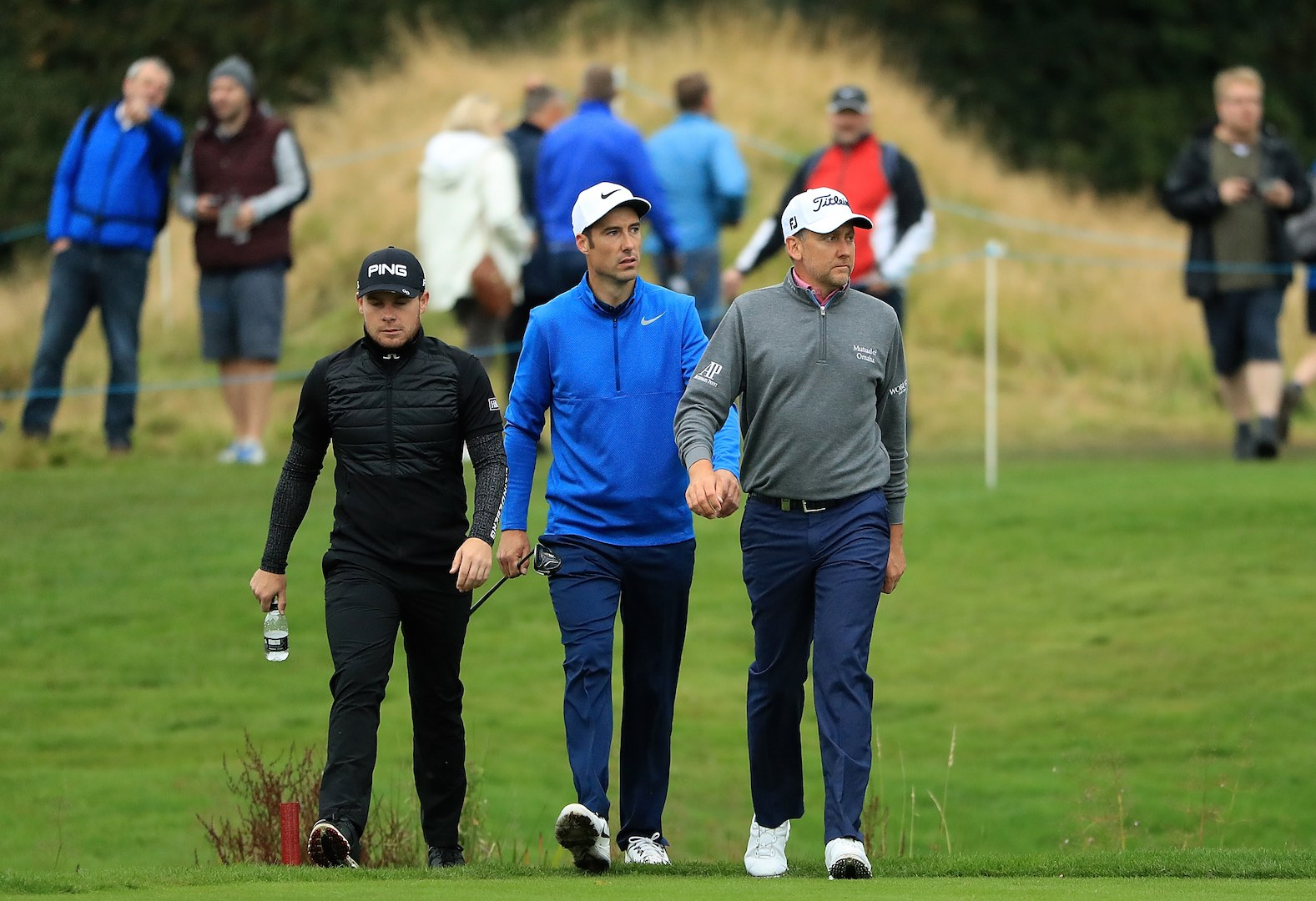 Ian Poulter drops the f-bomb at British Masters