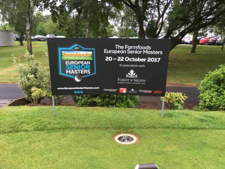Full list of professionals released for inaugural Farmfoods European Senior Masters
