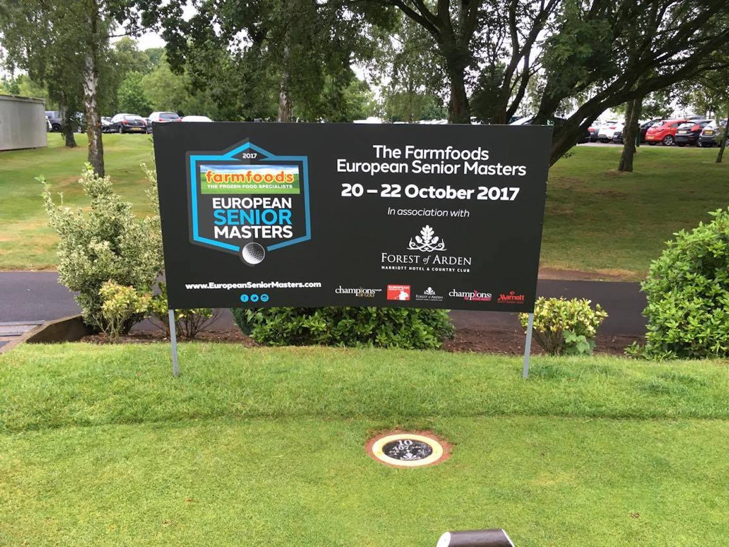 How to get your free tickets for the European Seniors Masters