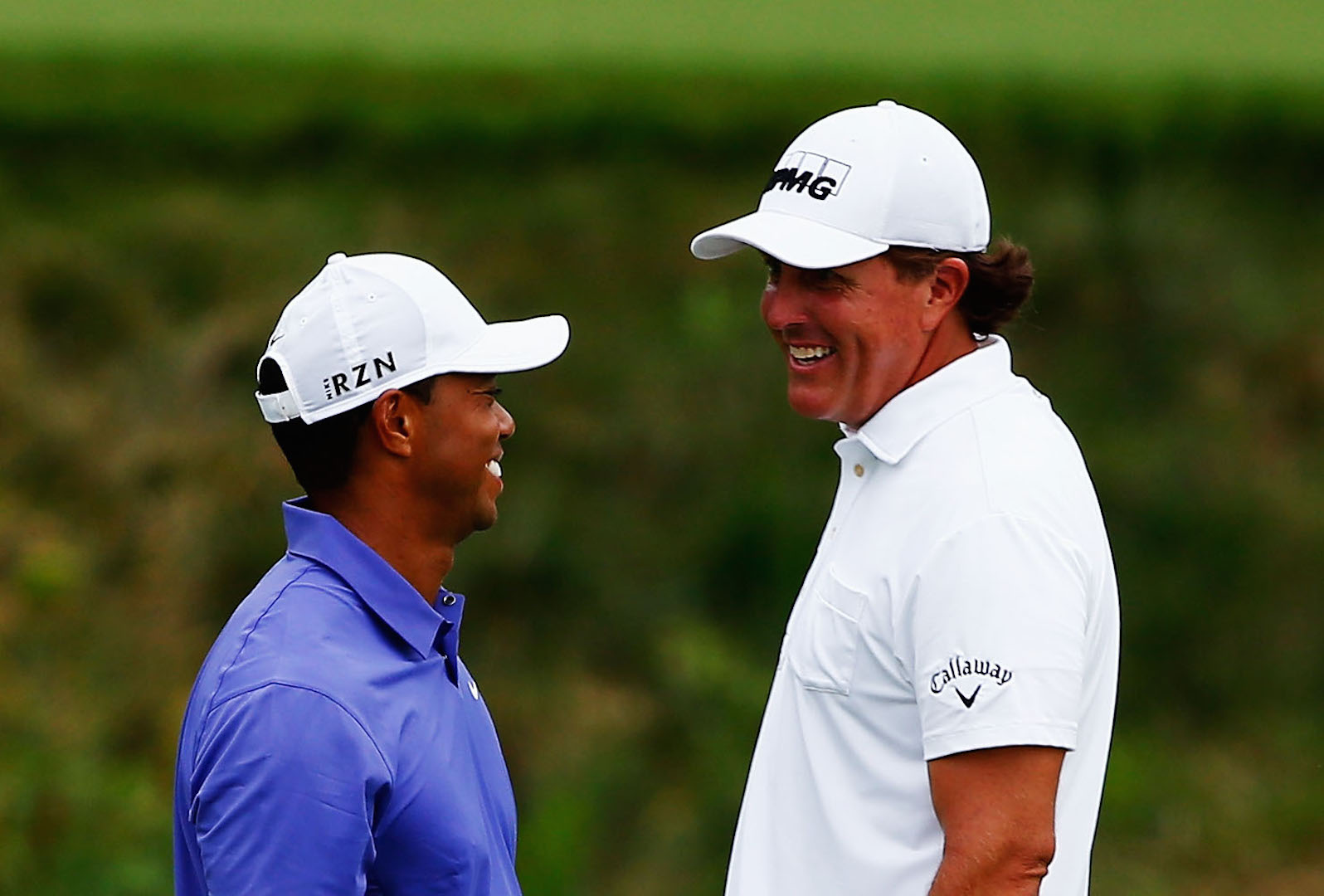 Tiger and Phil's surprising love boat sets sail