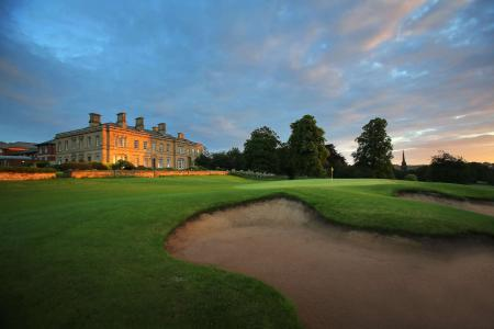 The GP Seal of Approval - it's Oulton Hall