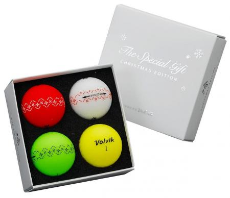 Volvik introduces Christmas Edition golf balls