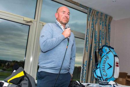 Captain Thomas Bjorn inspires Shire London golfers