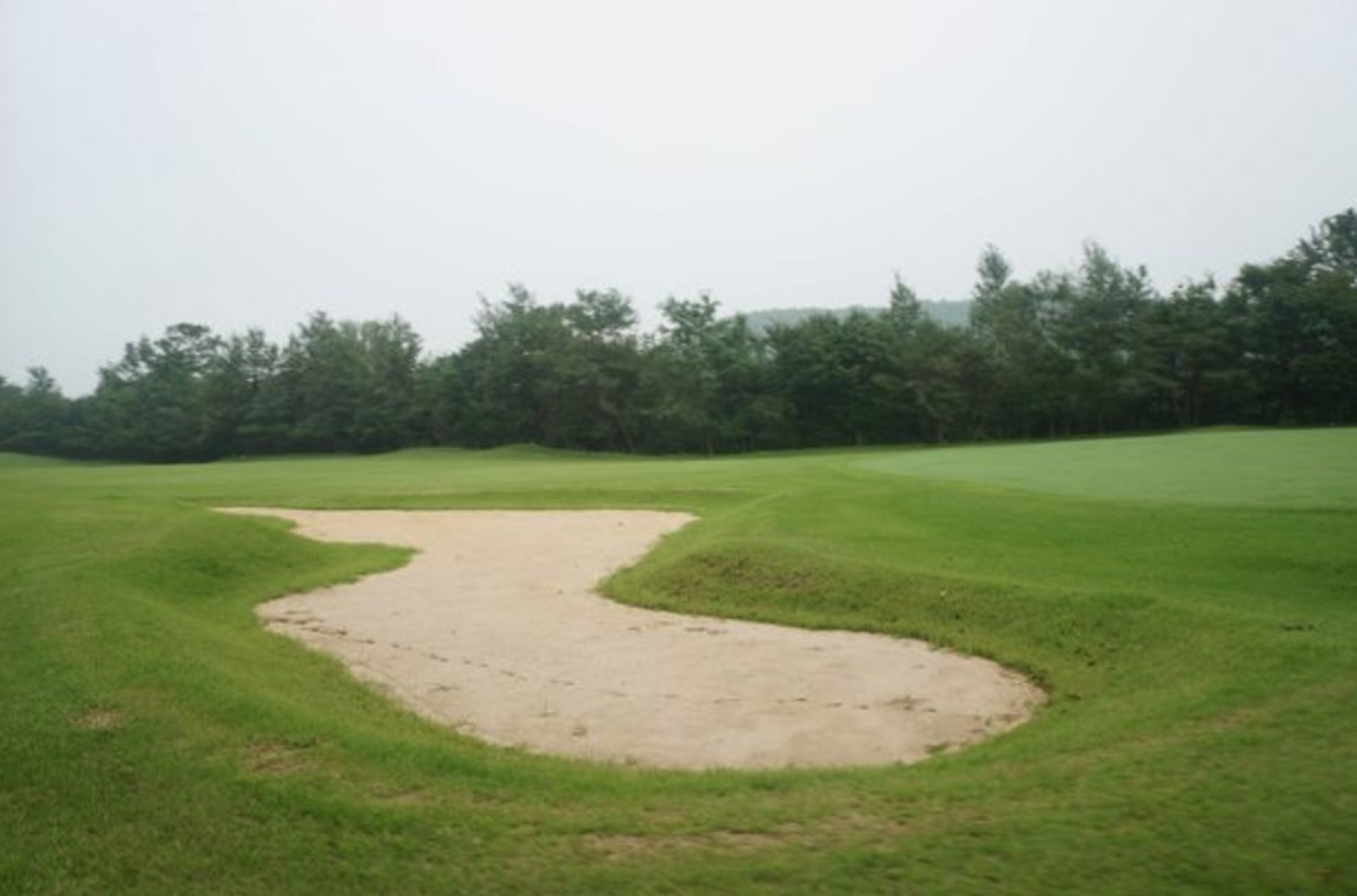 First pictures emerge of North Korea's one and only golf course