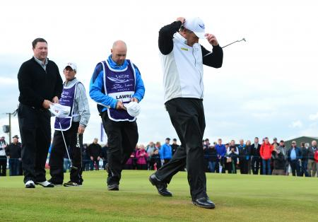 Lawrie gutted to be edged out in second round