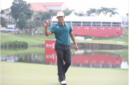 Whee Kim's ace at the CIMB Classic bags him $100.000