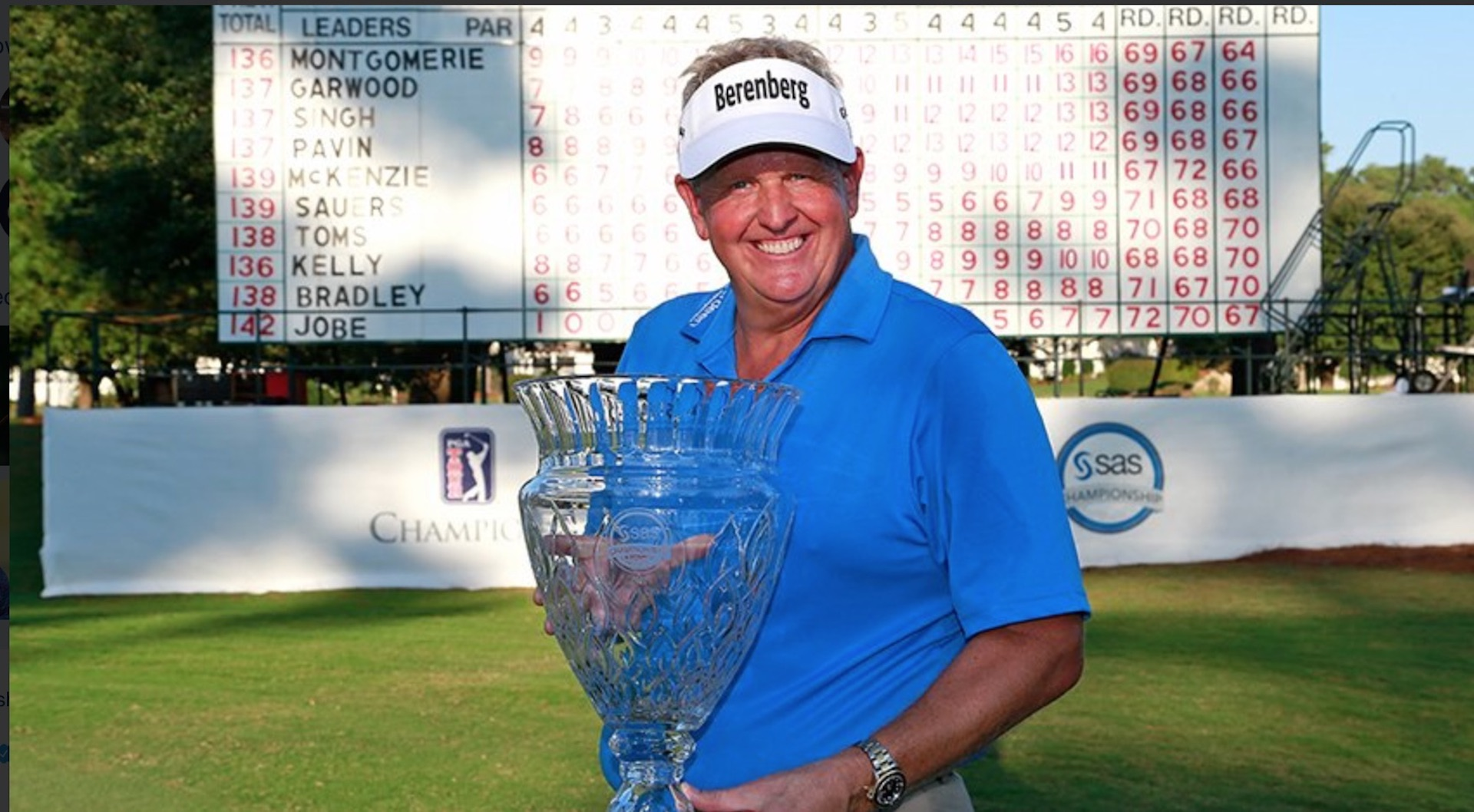 Colin Montgomerie claims second Champions Tour victory in 5 weeks