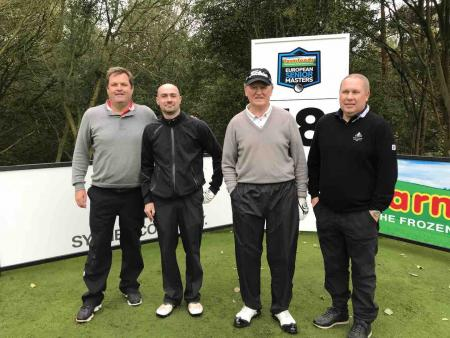 Next on the tee...GolfPunk at the European Senior Masters