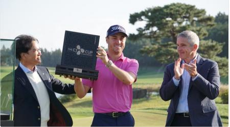 Justin Thomas wins inaugural CJ Cup