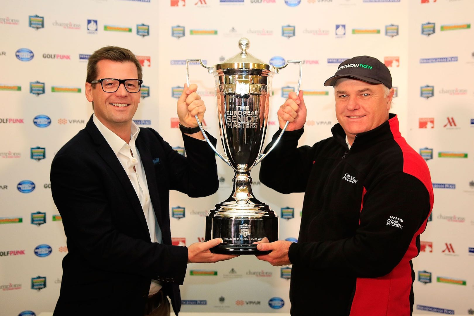 Stephen Dodd wins European Senior Masters
