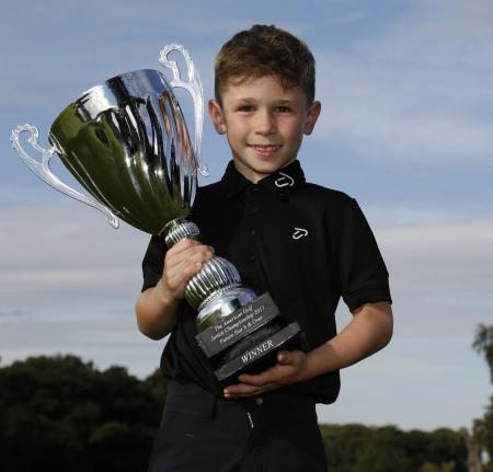 Eight–year–old Sam boosts profile of Oulton Hall on TV