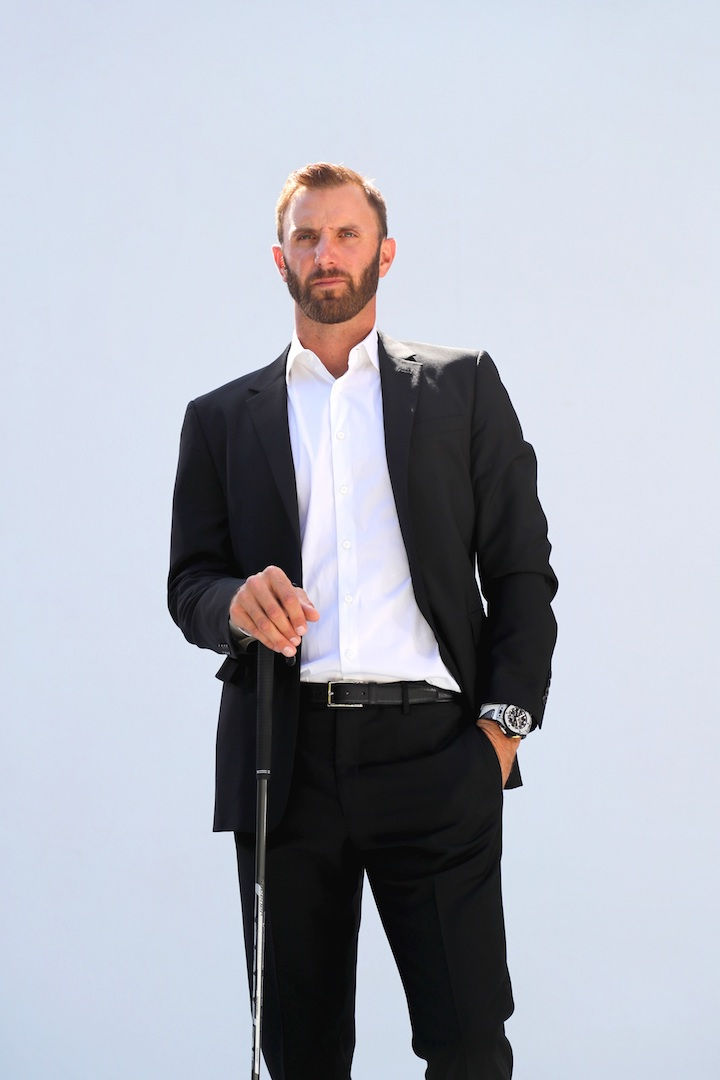 Hublot and Dustin Johnson