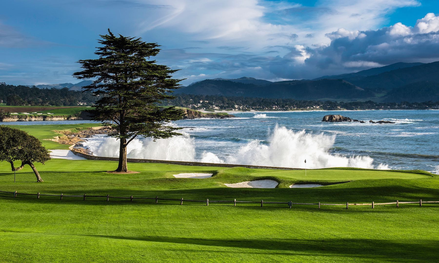It's all back to Pebble Beach