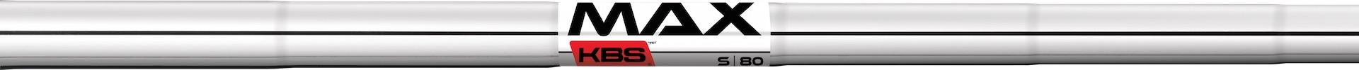 KBS MAX 80 Steel Shaft