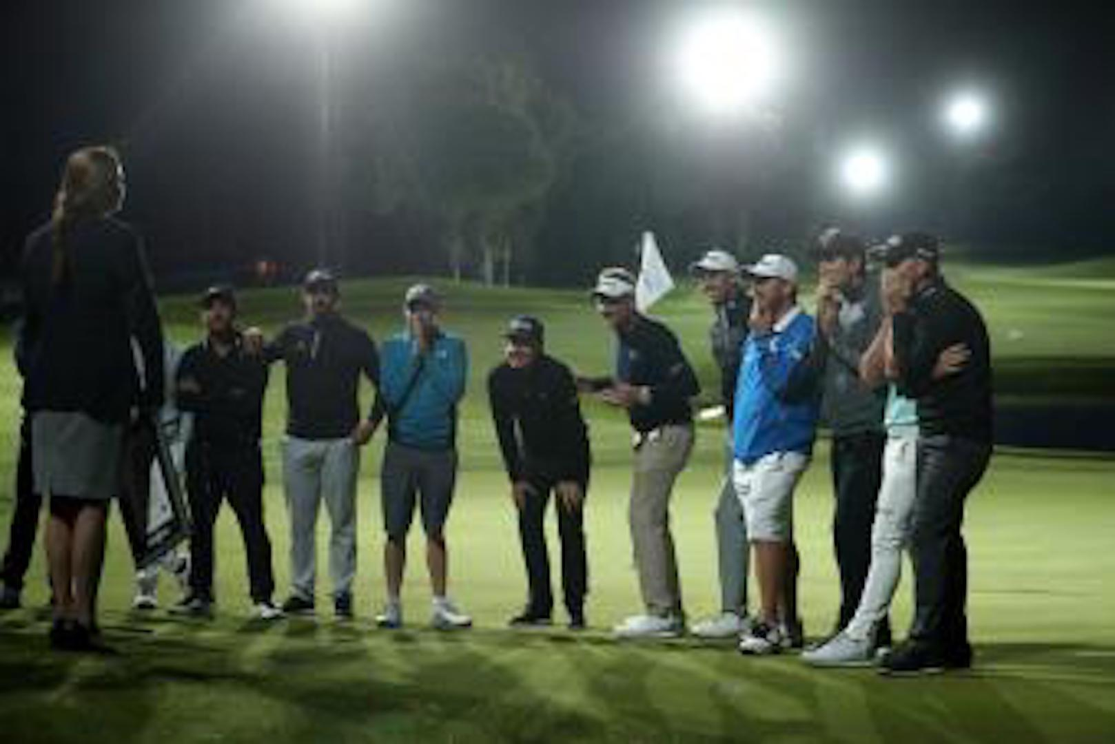 Ian Poulter leads Team England to Guinness World Record