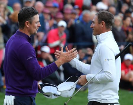 Justin Rose, Nicolas Colsaerts, 2017 Turkish Airlines Open