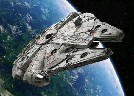 Millenium Falcon spotted on golf course