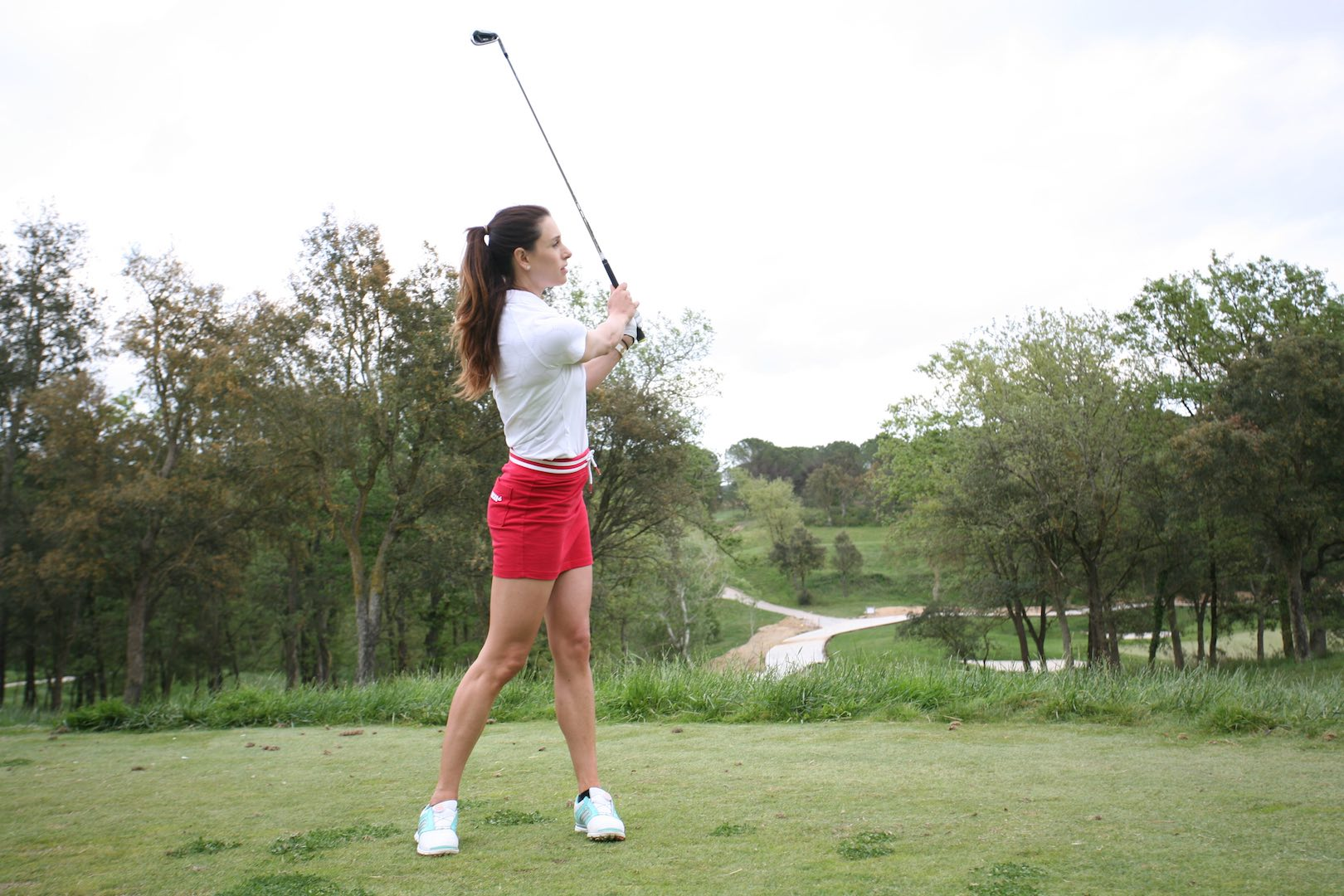 Golf instruction - how to hit a punch shot