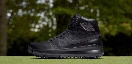 Nike release new all black Air Jordan golf shoe