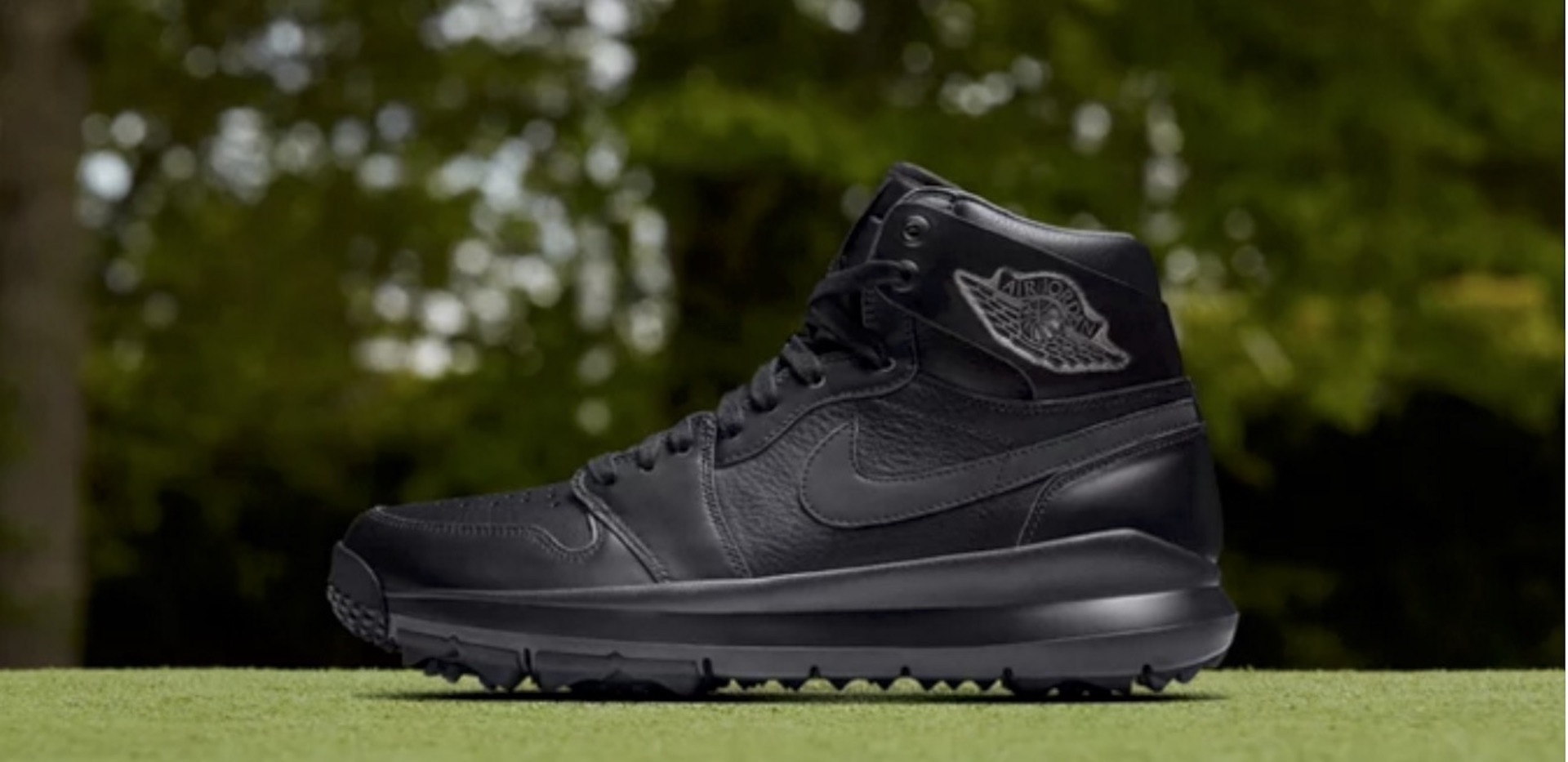 821937d9bebd Nike release new all black Air Jordan golf shoe - GolfPunkHQ