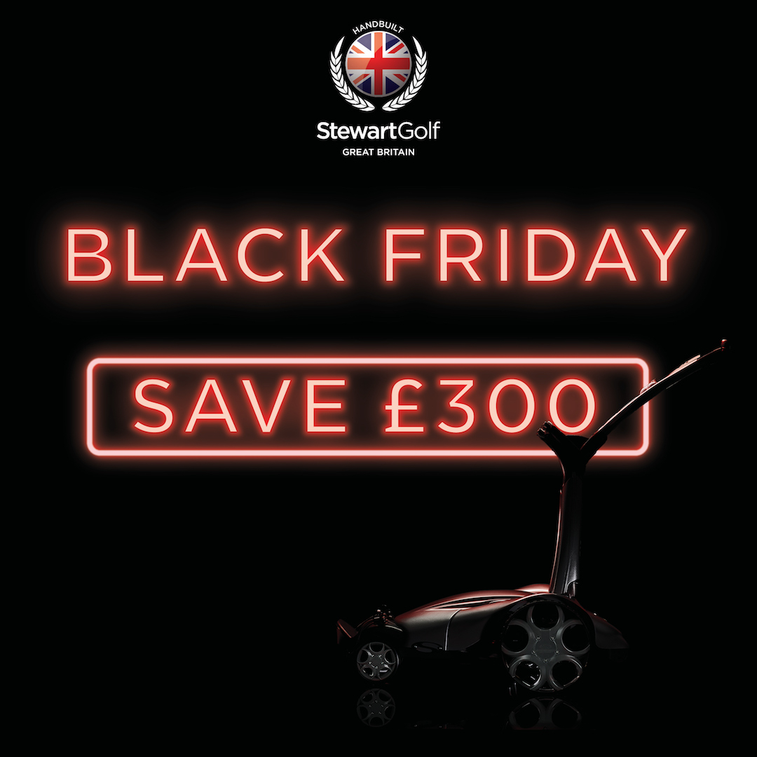 Stewart Golf launches Black Friday trolley deal