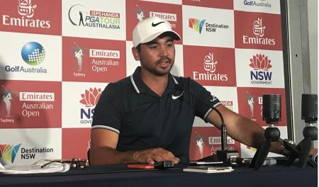 Jason Day leads in Australia