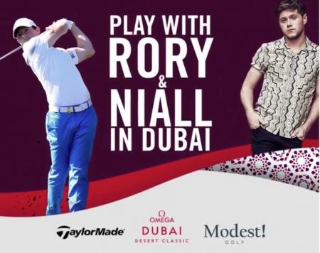 Win a place in the Omega Dubai Desert Classic Pro Am