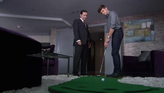 TV soap Emmerdale giving golf a bad name