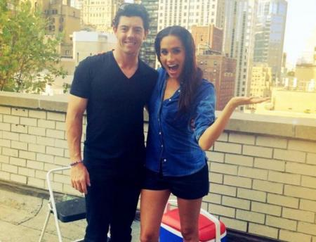 When Meghan Markle and Rory McIlroy took the ice bucket challenge
