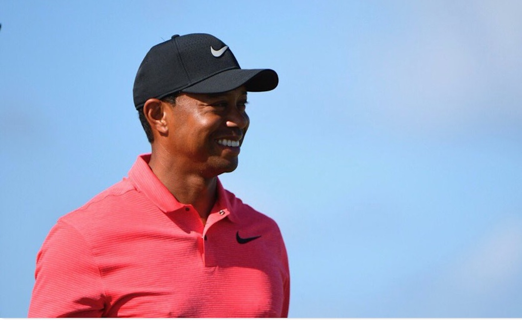 Tiger Woods just did everything but win the tournament