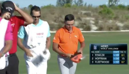Rickie Fowler shoots an incredible 61