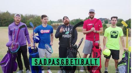 The Dude Perfect Trick shot team