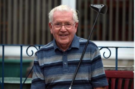 87-year-old wins Welsh golf club league