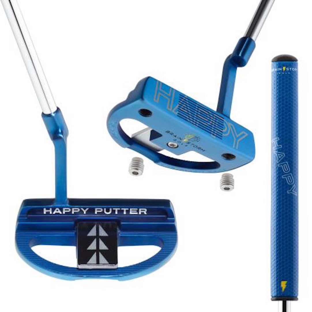 Brainstorm Golf brings you the Happy Putter
