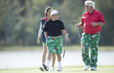 John Daly's son is a chip off the old block
