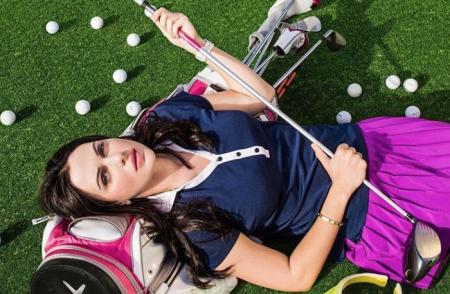 The golfing adventures of Maria Orlova