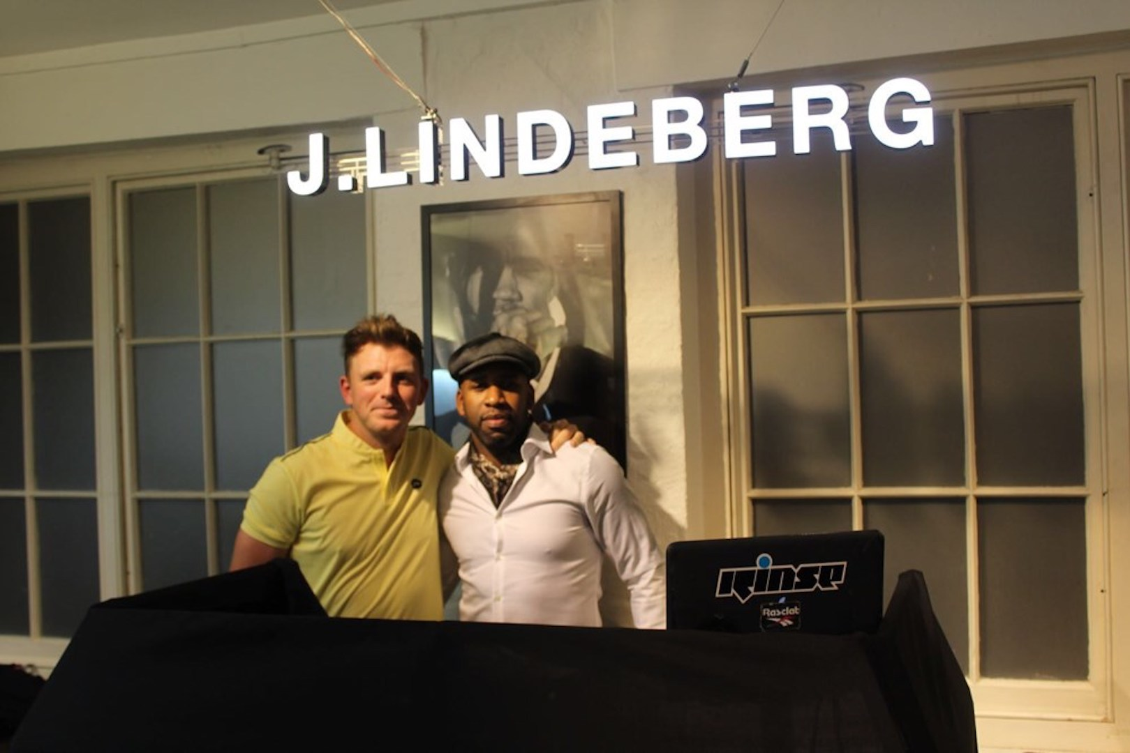 J Lindeberg celebrates 20th birthday