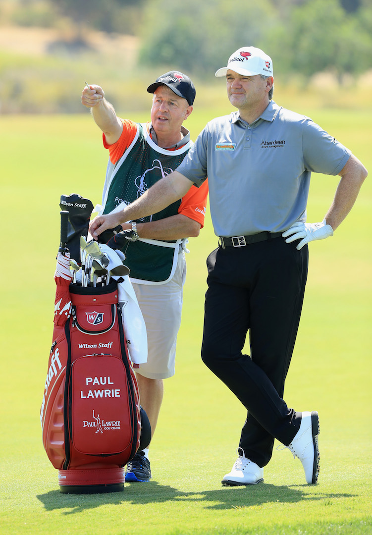 Paul Lawrie renews association with Wilson Golf