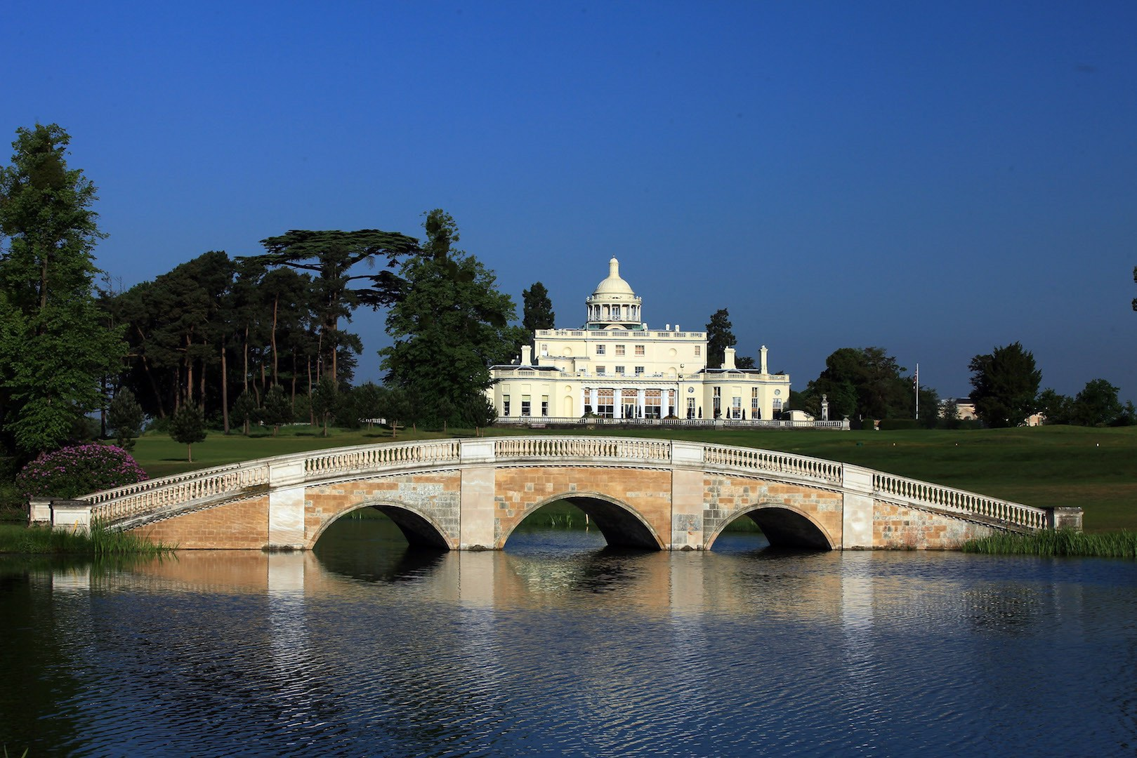 Work underway at Stoke Park Country Club & Hotel