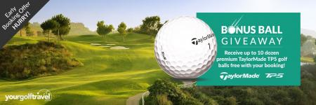 Your Golf Travel and TaylorMade Golf partner