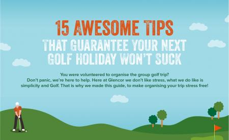 15 great tips for your next golf holiday