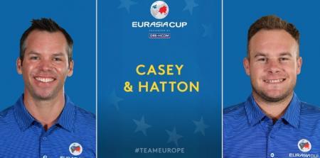 EurAsia Cup Saturday partnerships