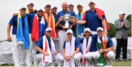 Europe retain EurAsia Cup